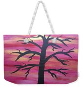 Branching Out Silhouette  Weekender Tote Bag