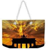 Brandenburg Gate Brandenburger Tor Berlin Germany Weekender Tote Bag