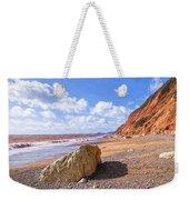 Branscombe Beach - Impressions Weekender Tote Bag