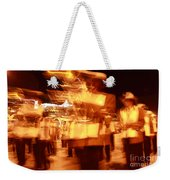 Brass Band At Night Weekender Tote Bag