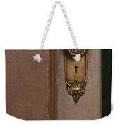Brass Knob Weekender Tote Bag