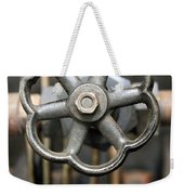Brass Valve Weekender Tote Bag