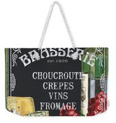 Brasserie Paris Weekender Tote Bag