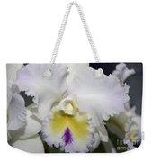 Brassocattleya Orchid 5292 Weekender Tote Bag