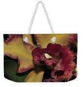 Brassolaeliocattleya Melinda Wheeler Halcyon Weekender Tote Bag