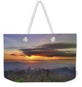 Brasstown Bald At Sunset Weekender Tote Bag