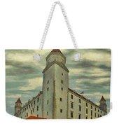 Bratislava Castle Weekender Tote Bag