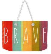 Brave Weekender Tote Bag