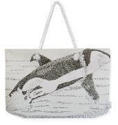 Breaching Orca Weekender Tote Bag
