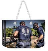 Breaching With Baton Rouge Swat Weekender Tote Bag