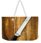 Bread Knife Weekender Tote Bag