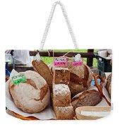 Bread On Local Market Weekender Tote Bag