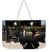 Break Dancer  Columbus Circle Weekender Tote Bag
