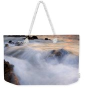 Break In The Storm Weekender Tote Bag