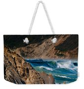 Breakers At Pt Reyes Weekender Tote Bag