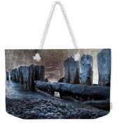 Breakers At Whitefish Point Michigan Weekender Tote Bag