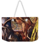 Breakfast After The Bath Le Petit Dejeuner Apres Le Bain Weekender Tote Bag