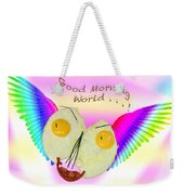 Breakfast Art Weekender Tote Bag