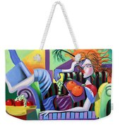 Breakfast At Tiffanie's  Weekender Tote Bag