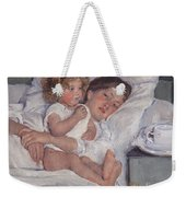 Breakfast In Bed Weekender Tote Bag
