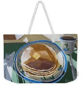 Breakfast Is Served Weekender Tote Bag