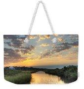 Breaking Dawn Along The Bayou Weekender Tote Bag