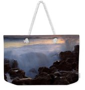 Breaking Dawn Weekender Tote Bag by Mike  Dawson