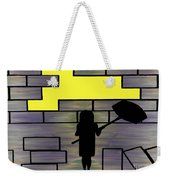 Breaking Down Barriers Weekender Tote Bag