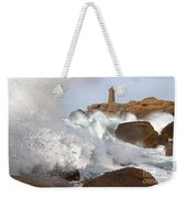 Breaking Of Waves Weekender Tote Bag