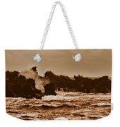 Breaking Waves-big Island Hawaii Weekender Tote Bag