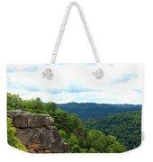 Breaks Interstate Park Virginia Kentucky Rock Valley View Overlook Weekender Tote Bag