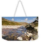 Breamish River Weekender Tote Bag