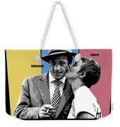 Breathless Movie Poster Weekender Tote Bag
