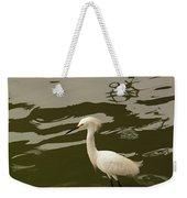 Breeding Egret Weekender Tote Bag