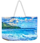 Breezy Hawaii Morning Weekender Tote Bag