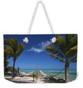 Breezy Island Life Weekender Tote Bag by Adam Romanowicz
