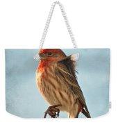 Breezy Morning Housefinch Weekender Tote Bag