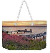 Breezy Pampas Grass Weekender Tote Bag