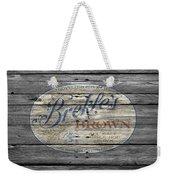 Brekles Brown Weekender Tote Bag