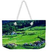 Brenner Pass Greenery Weekender Tote Bag
