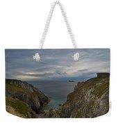 Bretagne Cliffs Weekender Tote Bag