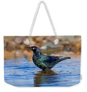 Brewers Blackbird In Water Weekender Tote Bag