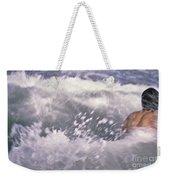 Brian Swimming In The Sea Weekender Tote Bag