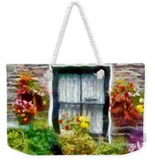 Brick And Blooms Weekender Tote Bag