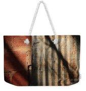 Brick And Metal Weekender Tote Bag