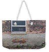 Brick Broken Plaster And Window Weekender Tote Bag