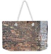 Brick Building Stop Weekender Tote Bag