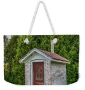 Brick Outhouse Weekender Tote Bag