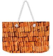 Brick Stack Weekender Tote Bag