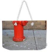 Bricks And Fire Weekender Tote Bag